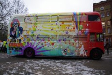 The Kindness Offensive's Routemaster bus