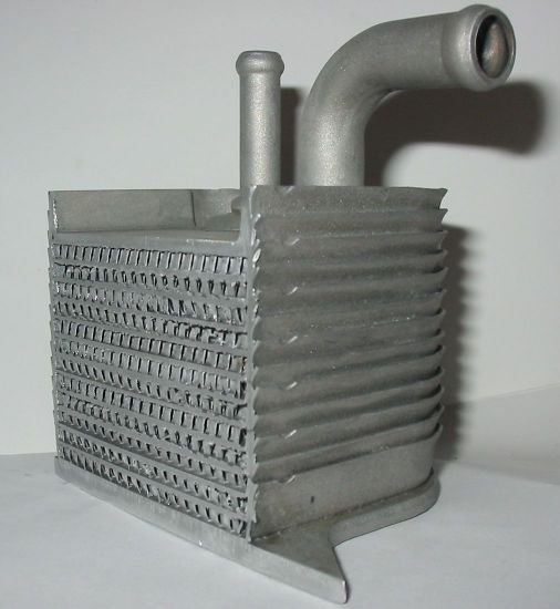 BioTuning compact heat exchanger for vegetable oil conversion of diesel engines